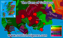 R-M222 Clans of Galloway
